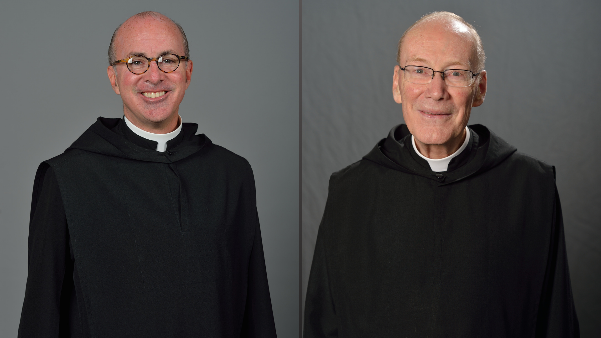 Father Augustine Kelly and Father Peter Guerin